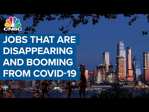 Here are the jobs that are disappearing and booming because of Covid-19