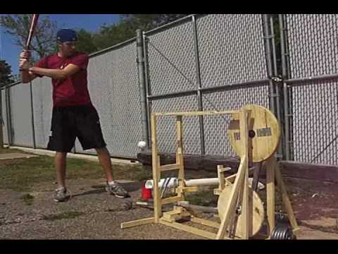 Homemade Mechanical Pitching Machine Homemade Ftempo