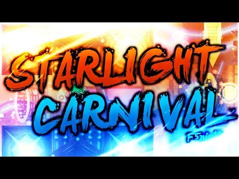 [Geometry dash 2.11] - 'Starlight Carnival' by F5night (All Coins)