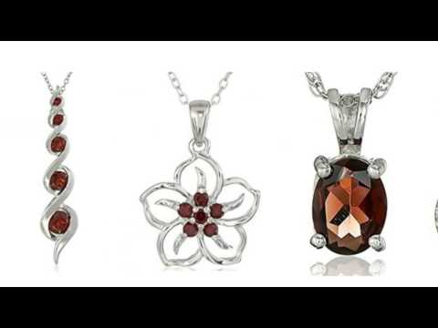 [HOT NEW RELEASE] Cute Garnet Mood Necklace Colors for Her from an Amazon Collection