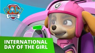 PAW Patrol | Skye Celebrates International Day of the Girl! | PAW Patrol Official & Friends