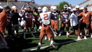 Longhorn Blitz: Circle drill [Aug. 9, 2015]