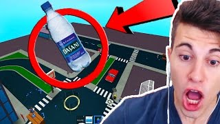 THE MOST IMPOSSIBLE BOTTLE CHALLENGE OF ALL!! -ROBLOX (Flip Water Bottle)
