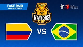 BRASIL x COLÔMBIA no MUNDIAL DE CLASH ROYALE - CR Nations Cup | OITAVAS DE FINAL - BRUNO CLASH