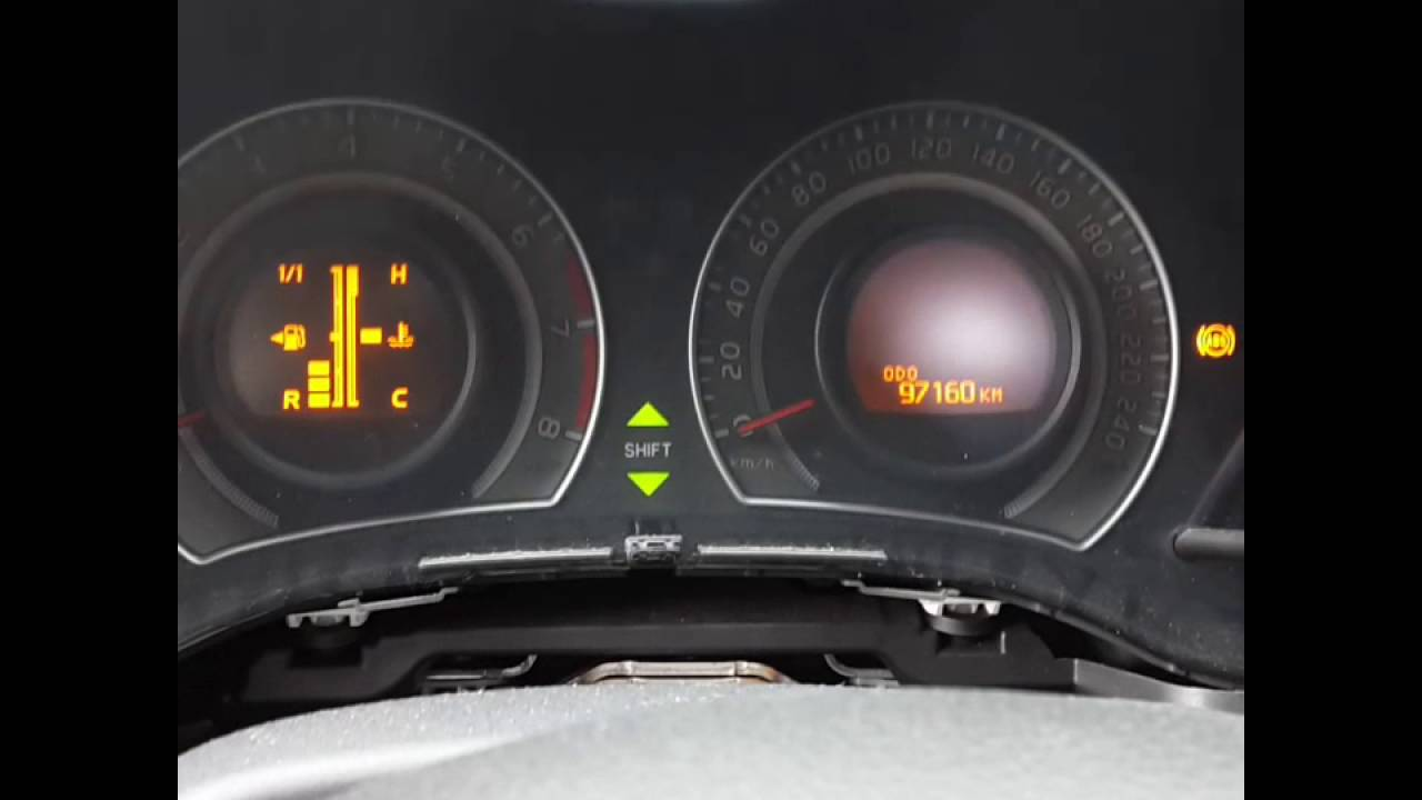 Nissan Primera P12. Пересвет панели приборов рестайл ч. 1 (разборка)
