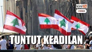 Rakyat Lubnan tuntut keadilan setahun lepas letupan pelabuhan