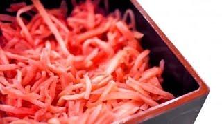 Маринованный имбирь(Маринованный имбирь -- это популярная японская приправа. Приготовить ее в домашних условиях очень просто., 2014-04-14T08:04:31.000Z)
