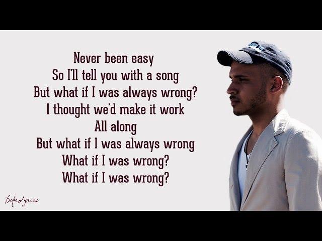 Bobby Priel - Wrong (Lyrics) 🎵