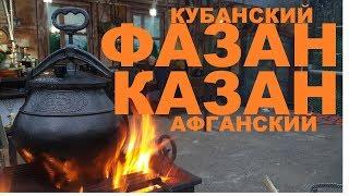 ФАЗАН КУБАНСКИЙ КАЗАН АФГАНСКИЙ ОХОТА НА ФАЗАНА РЕЦЕПТЫ СЮФ