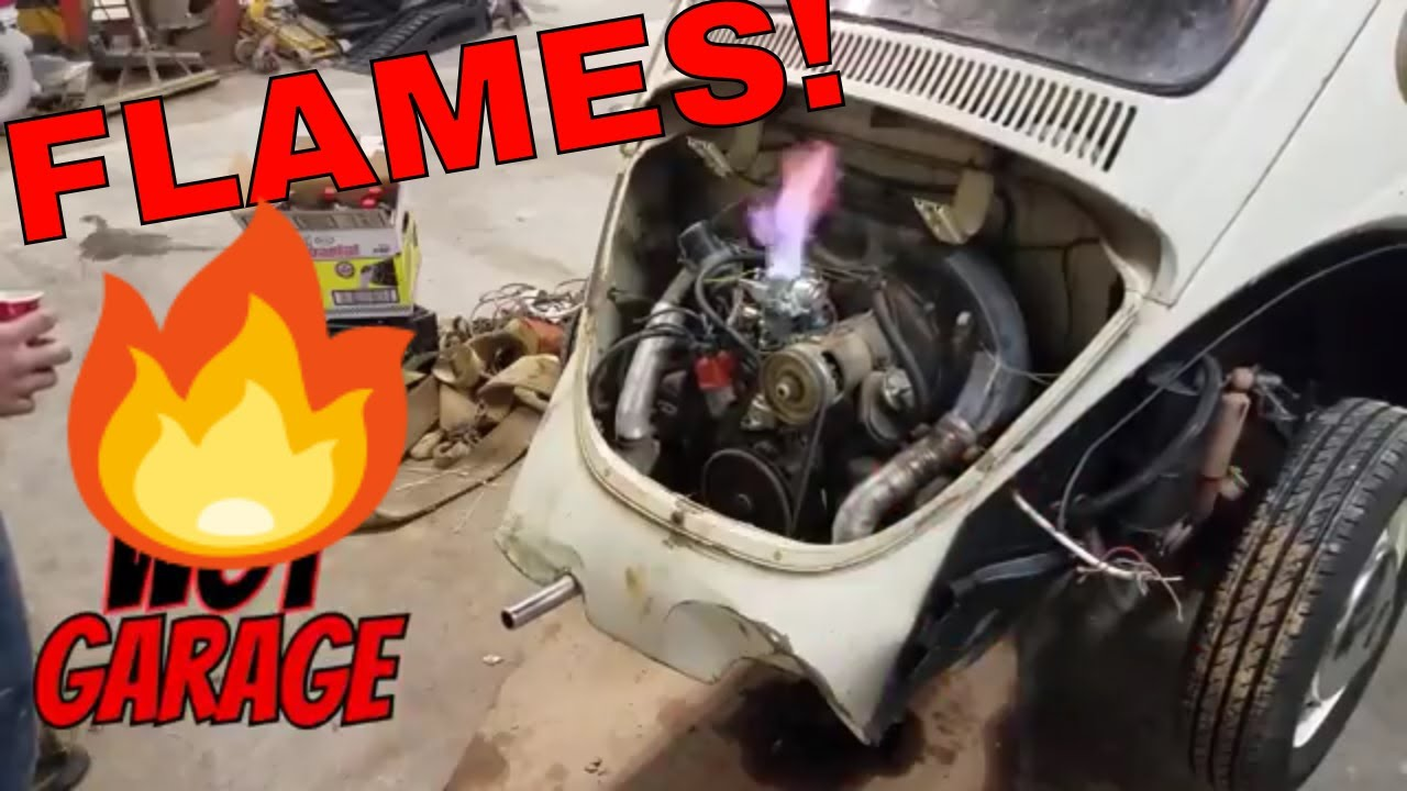 Day #13 - 71 VW Beetle Fuel Pump & Filter Install -