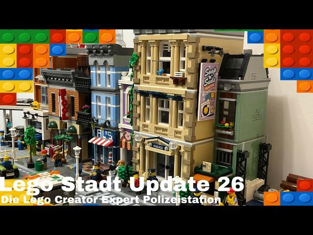 Lego Stadt Update 26/ Die Lego Creator Expert Polizeistation