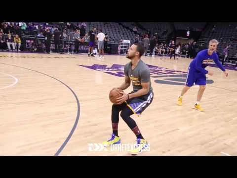 Steph Curry Pre-Game Workout Routine vs Sacramento