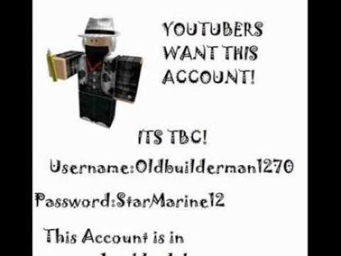 *2018* HOW TO GET FREE RICH ROBLOX ACCOUNTS! (Ended) - YouTube