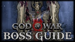 GOD OF WAR Boss Guide ► Sigrun, the Valkyrie Queen (SUPER EASY GUIDE!)