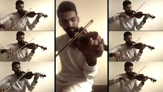   Muthu Mani Maalai   Strings Cover by Manoj Kumar- Violinist