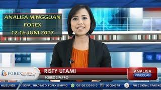 Analisa Forex Mingguan 12-16 Juni 2017