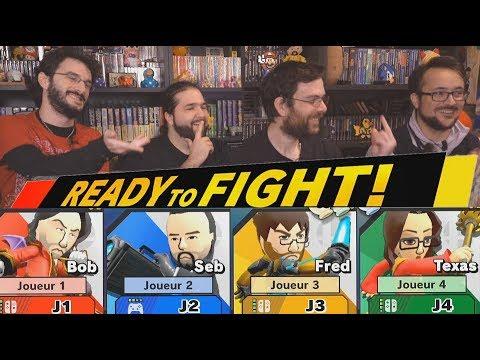 FRED, SEB, BENZAIE ET BOB SONT SUR UN BATEAU... -Super Smash Bros Ultimate- thumbnail