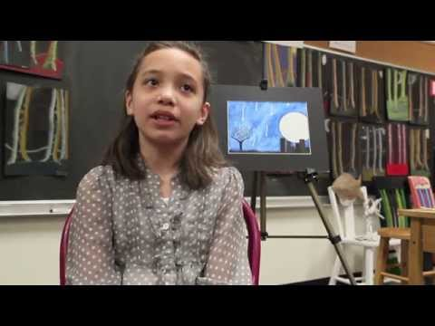 Promo video #1 for East Farms School art exhibit