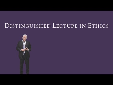 Distinguished Lecture in Ethics - Lee Bird