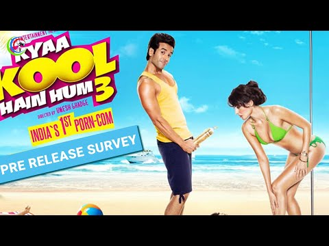 Pre Release Survey of  'Kyaa Kool Hain Hum 3'