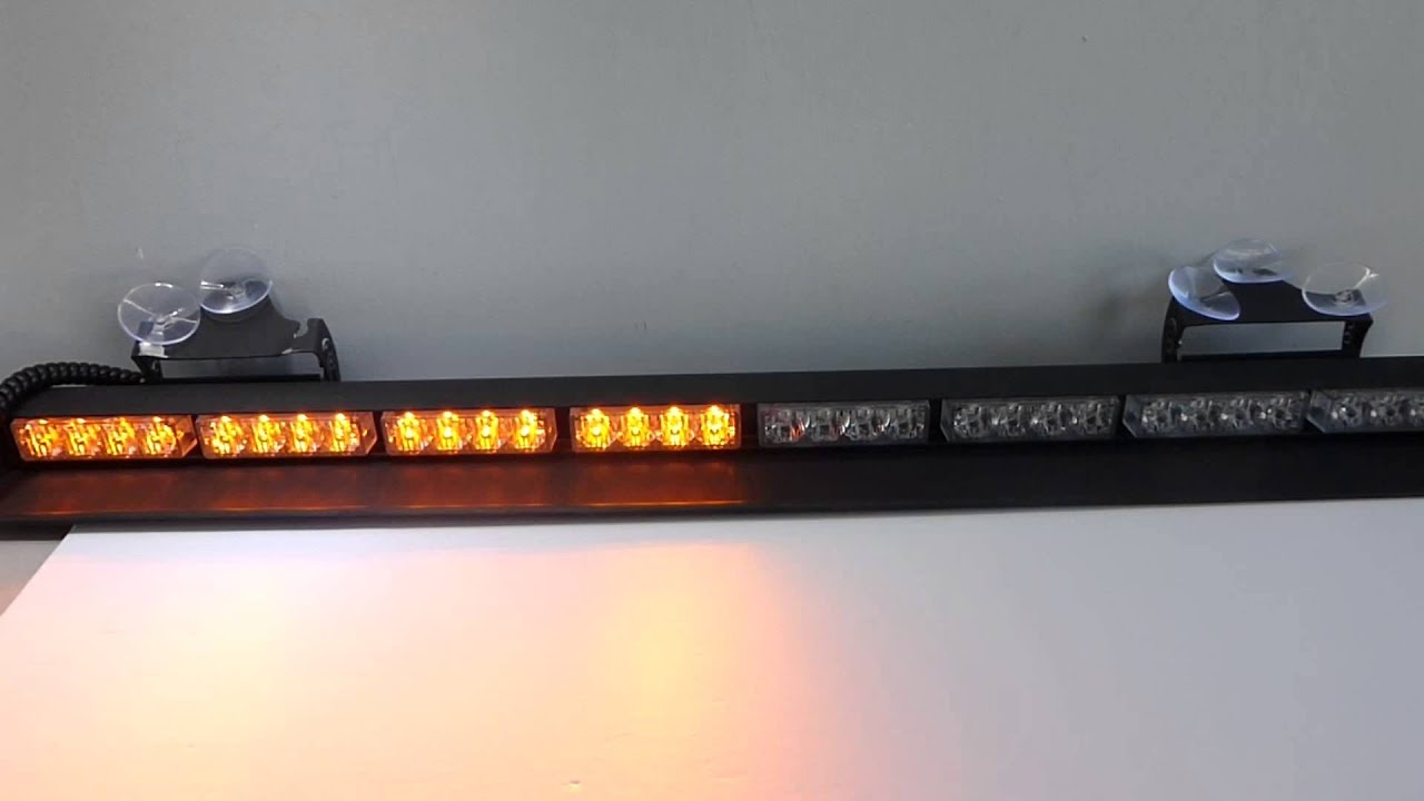 Directional Light Bars Trucks For Construction And Traffic