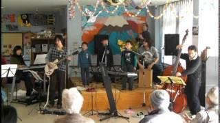 2011年1月4日 宮崎市内 デイサービスセンターにて慰問演奏 歌:し...