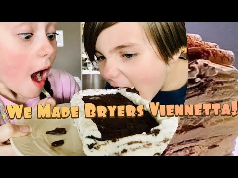 We Recreated The Iconic 90's Ice Cream Treat | Bryer's Viennetta Ice Cream