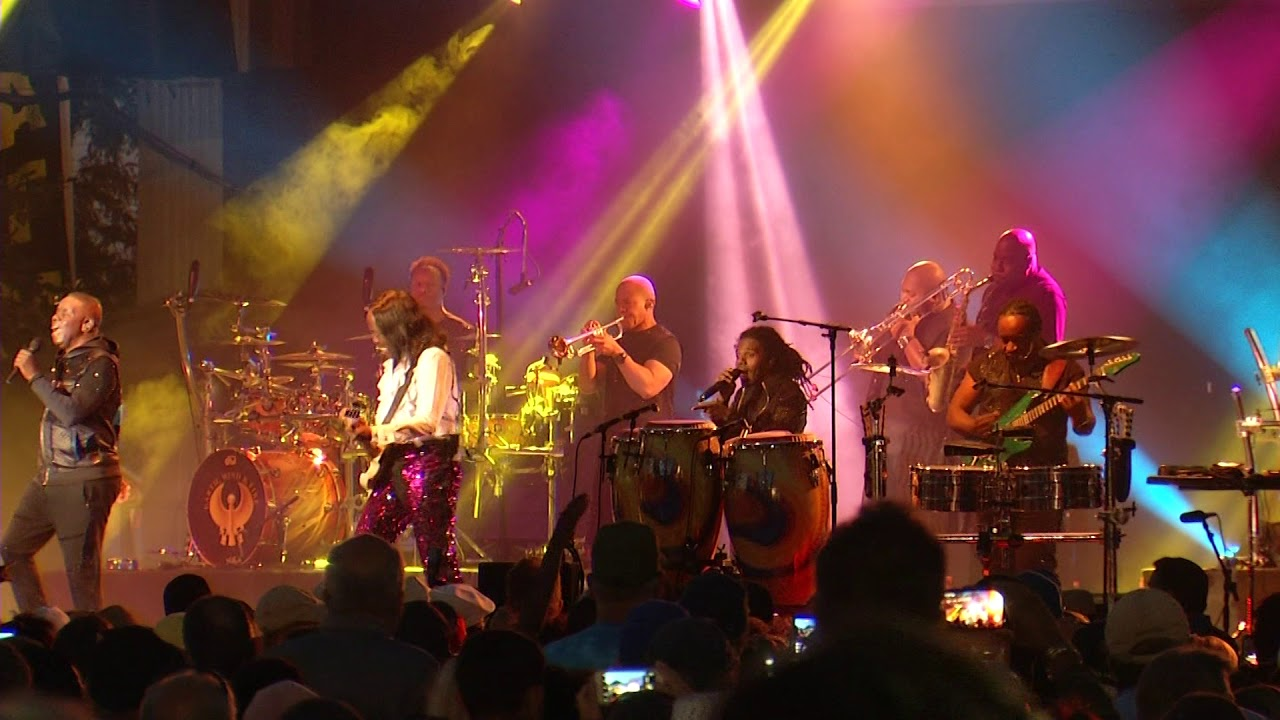 Earth Wind Fire Performing Chevy Court The Great Nys Fair