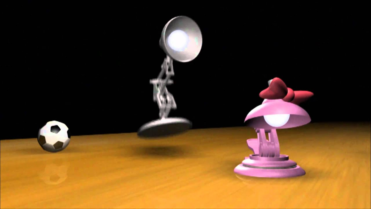 luxo jr A baby lamp finds a ball to play with and it's all fun and games until the ball bursts just when the elder luxo thinks his kid will settle down for a bit, l.