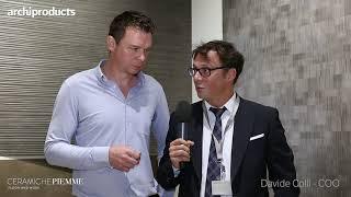 CERSAIE 2019   CERAMICHE PIEMME - Andy Piepenstock and Davide Colli present Glitch