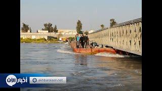 إنقاذ 55 من ركاب العبارة المنكوبة بالموصل