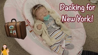 Обложка на видео - Packing Reborn Baby Quinylnn for New York! | Kelli Maple