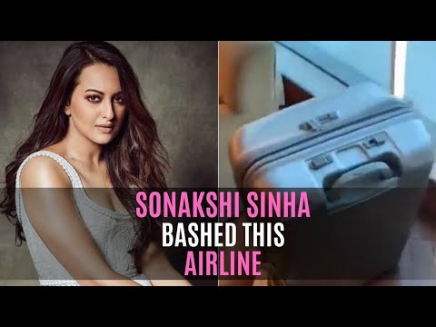 Sonakshi Sinha Bashed This Airline After Her Luggage Got Damaged | SpotboyE Mp3