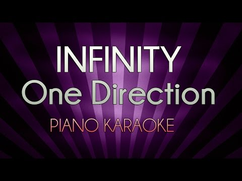 Infinity - One Direction | Higher Key (Official Piano Karaoke Instrumental Lyrics Cover Sing Along)