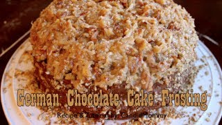 German Chocolate Cake Frosting Recipe & Tutorial