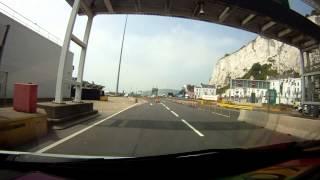 Repeat youtube video Mit dem Wohnmobil in GB  / Ankunft in Dover und Linksfahren im engen Land
