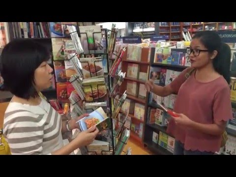 UNCTAD Youth Forum - When 2 Ladies Talk in Bookstore