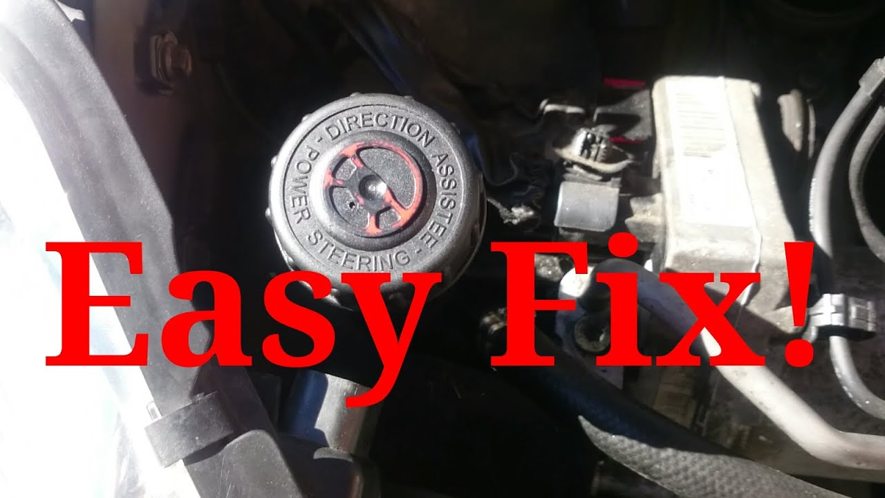 how to fix a power steering problem on a peugeot 407 have rh youtube com