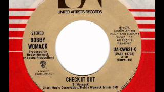 BOBBY WOMACK  Check it out  70s Soul