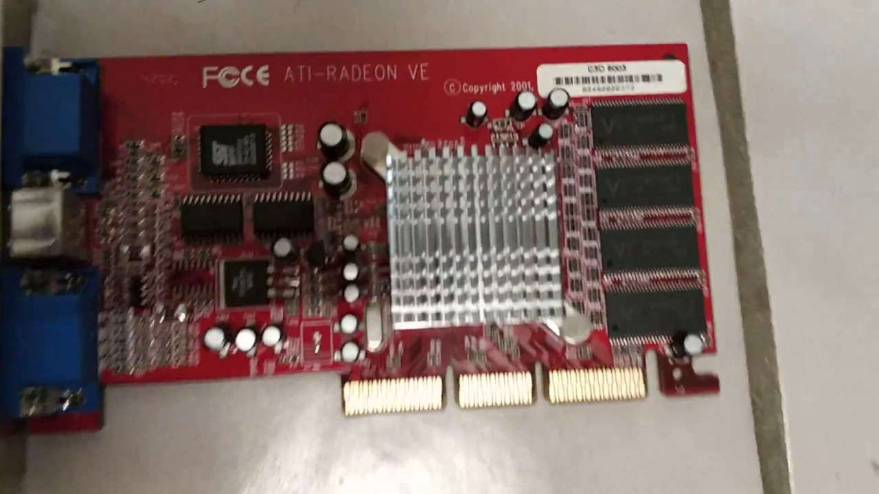 Radeon 7000 radeon ve family driver windows xp.