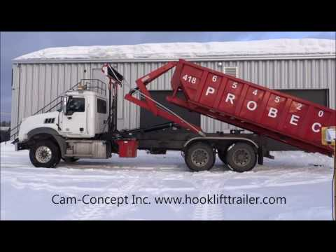 14 - TRUCK: HOOK-LIFT 44,000 LBS CAPACITY