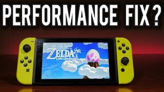 Does Overclocking the Nintendo Switch Fix Links Awakening? | MVG