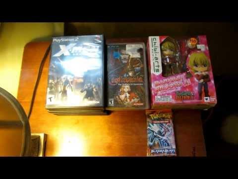 Englishtown Flea Market Finds 10/6/2013 - PSP Games, PS2 Games, Pokemon Cards, & Anime Figure