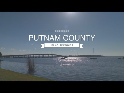 Florida Travel: Visit Putnam County in 60 Seconds