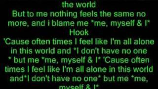 Akon Me Myself & I Hq Lyrics In Vidieo