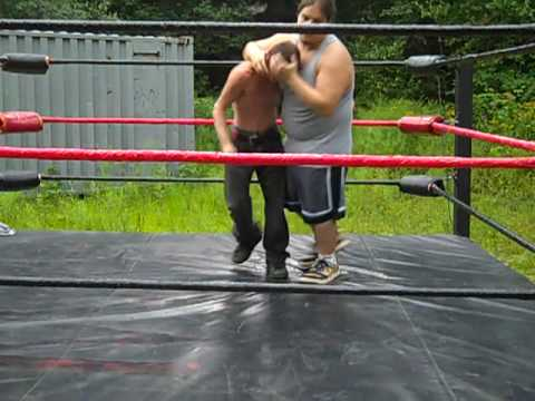 nwf backyard wrestling  YouTube