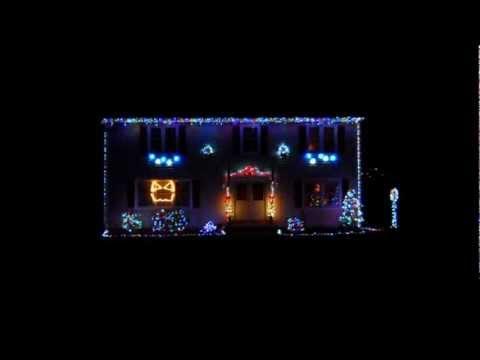 christmas light show 2012 gangnam style 2 legit 2 quit remix lights on longhorn