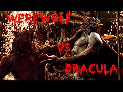 Death of Dracula - werewolf vs Dracula - Final Fight with vampire - Van Helsing HD