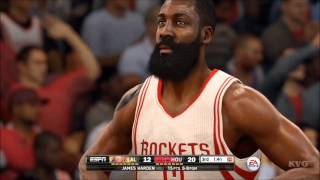 NBA Live 16 - Los Angeles Lakers vs Houston Rockets Gameplay (XboxONE HD) [1080p60FPS]