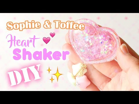 DIY Heart Shaker Charm│Sophie & Toffee Subscription Box August 2017